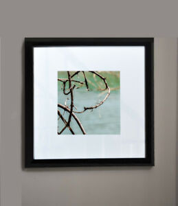 Framed picture 14x14 wall art just like an abstract painting
