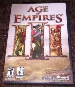 """""""Age of Empires 3"""" & """"Age of Empires 2"""" Expansion + Gold Edition"""