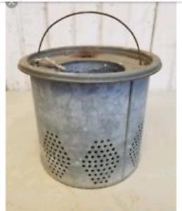 ISO Metal Minnow Buckets