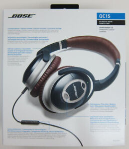 Bose QC15 Quiet Comfort 15 Acoustic Noise Cancelling Headphones
