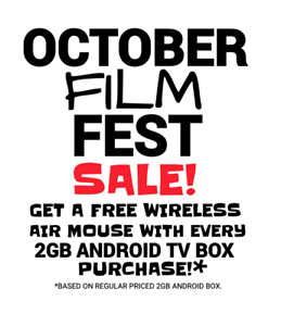 FREE WIRELESS AIR MOUSE WITH EVERY 2GB ANDROID TV BOX PURCHASE!