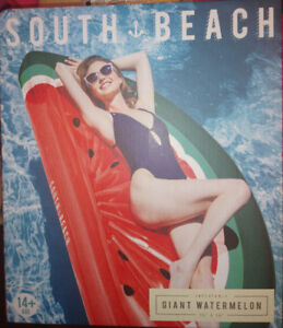 New in box 6 foot tall giant inflatable watermelon slice