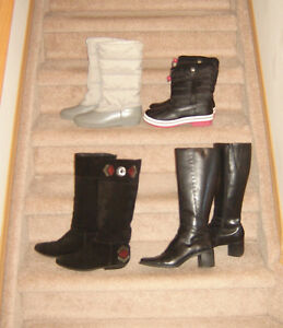 Ladies Boots and Shoes - sizes 8.5, 9