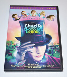 Charlie and the Chocolate Factory - DVD St. John's Newfoundland image 1