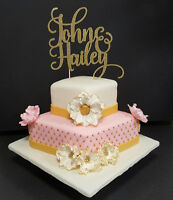 Engagement Cakes, Cupcakes and Sugar Cookies