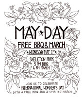 May Day - Free BBQ and March