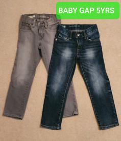 Baby Gap Jean Bundle -5Yrs