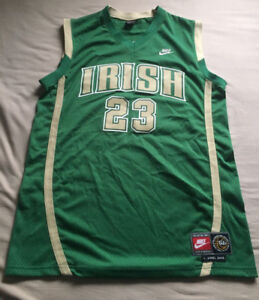 Lebron James Irish Jersey In Perfect Condition