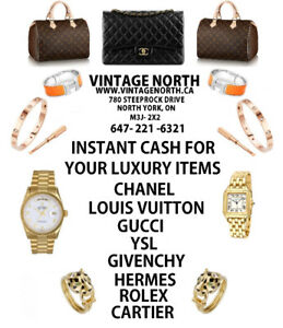 LOUIS VUITTON CHANEL GUCCI TIFFANY ROLEX CARTIER HERMES