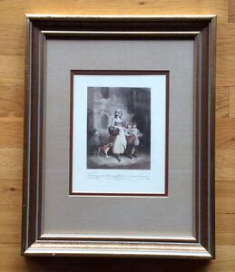 Two bunches a penny primrose framed print