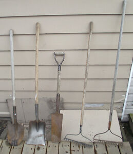 Shovels & Rakes $ LOWERED $  Priced to Sell