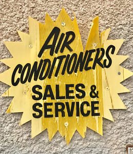 AIR CONDITIONERS, New & Reconditioned, Sales & Service