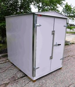 Galvanized Steel - Sheds, Containers, Lockers - Made in Manitoba