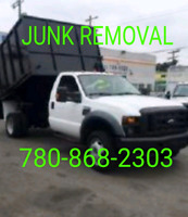 FULL SERVICE CHEAP JUNK REMOVAL 780 868 2303
