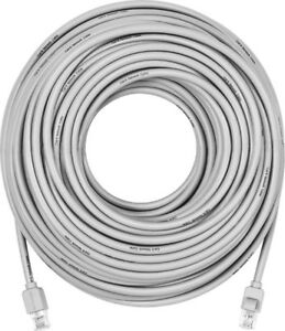 Staples® 50' CAT5e Ethernet Networking Cable, Grey