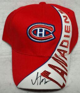 Alex Galchenyuk - Casquette Des Canadiens de Montréal Signée