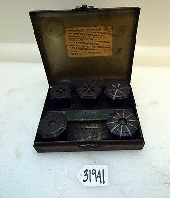 Jacobs Rubber Flex Collets 18 To 58 Inch Set Inv.31941