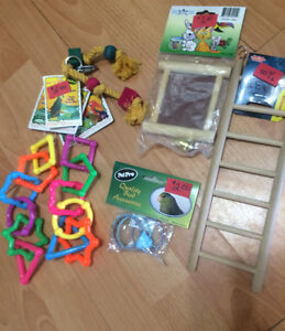 Pet Bird cage items -Toys  $2 each