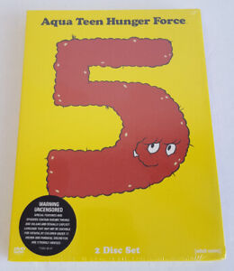 AQUA TEEN HUNGER FORCE SEASON 5 DVD NEW SEALED
