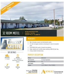 Grizzly Motel, Swan Hills, Alberta - BUSINESS FOR SALE