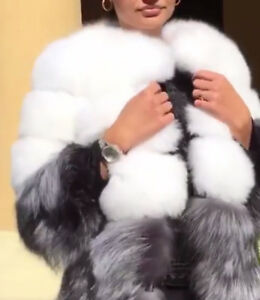 Manteau 100% vraie fourure valeur 5000$/Coat 100% real fur