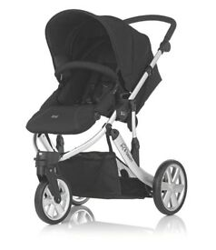 Britax B-smart 3 Neon Black Pushchair. Brand new and unboxed
