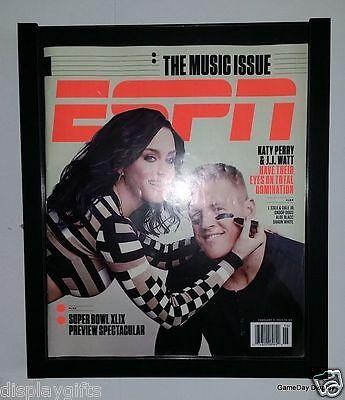 Black Rolling Frame (Magazine Display Frame Case Black Shadow Box ESPN Rolling Stone)