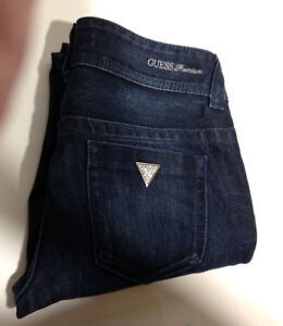 Guess Premium Womens Jeans ~ Rhinestones ~ Size 27