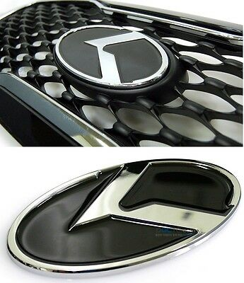 Dxsoauto luxury aluminium emblem 3pcs Fits: KIA 2013+ Forte Cerato K3