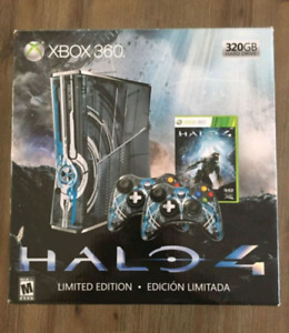 Xbox 360 S, Halo 4 limited Edition 320gb