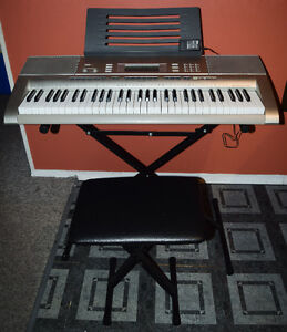 KEYBOARD, STAND AND SEAT
