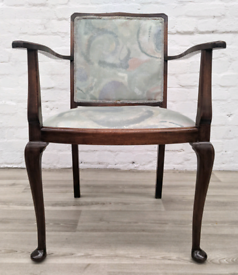 Queen Anne Style Armchair (DELIVERY AVAILABLE)
