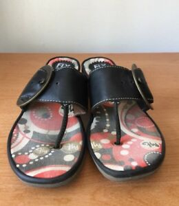 FLY LONDON Slip On Sandals Wedges Size 40 (8.5 - 9)