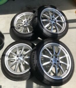 "20"" Sportec Mono10 Forged Alloy Rims with Tires, Audi, Porsche"