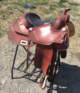 Billy Cook Pro Rodeo Western Saddle