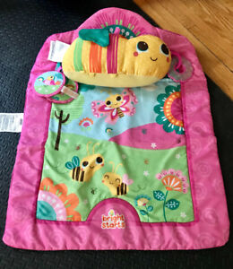 Tummy Time Prop and Play with bonus Nursing Pillow,Car Seat toys