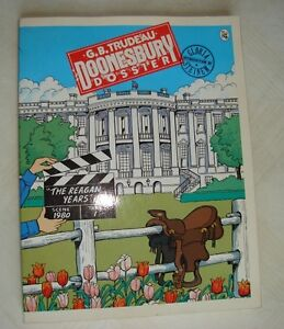 Doonesbury Dossier : The Reagan Years by G. B. Trudeau (1984, pa West Island Greater Montréal image 1