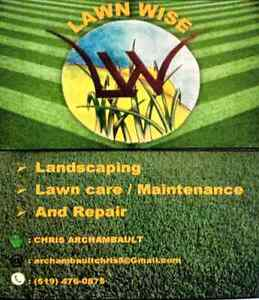 Lawncare and grass cutting London Ontario image 1