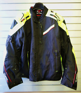 Textile Motorcycle Jacket, NEW $249
