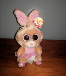 Ty Beanie Boos Twinkle Toes - Bunny - 6 inches