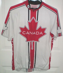 Sugoi Canada Cycling Jersey Size Medium London Ontario image 2