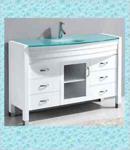 """WHEN """"WHITE"""" IS """"RIGHT"""" SOLID OAK-""""SOFT"""" CLOSE VANITIES"""
