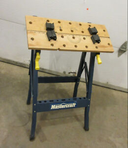 folding work bench table by Mastercraft