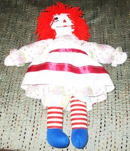 Poupée Raggedy Ann Doll
