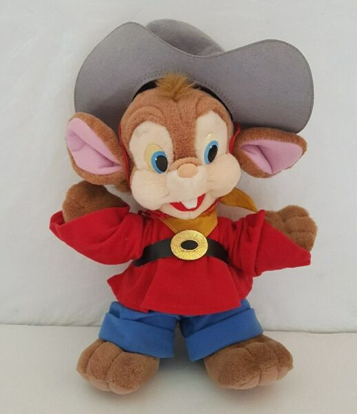 Old Toy, Vintage Toy, Retro Toy, An American Tail, 1991 soft cuddly toy Fievel Mousekewitz 13 inches