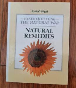 Health and Healing Natural Remedies Nursing Organic Medical Book
