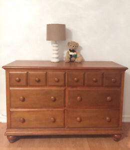 $400 for TWO Solid Oak Dressers - OBO