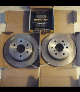 (LOWERED)Brake pads and rotors 60obo