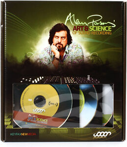 ASSR Alan Parsons 10 Hour Recording Studio Tutorials on 3 DVD's!