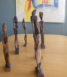Hand Carved wooden Figures North Shore Greater Vancouver Area image 7